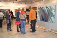 Vernisáž výstavy 3. 2. 2015, Roman Šafránek-HOAX
