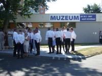 Otevření muzea pod vodárnou, červenec 2007