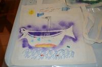 3. den - dekorace plátěných tašek