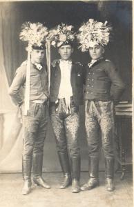 Tři odvedenci ze Staré Břeclavi, 1924