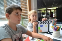 4. den - výroba filmové klapky