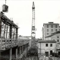 Výstavba provozních budov podniku Gumotex, 60. léta