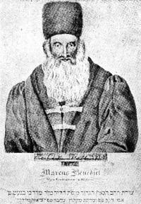 Mordechaj Benet, břeclavský rabín v letech 1787-1789