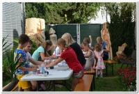 Muzejní letní dílničky 3. den. Výlet na safari – rukavičkový slon.
