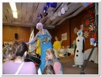 Velká Olafova dětská diskotéka
