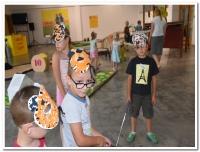 3. den - výroba tygří masky