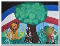 Vítězné práce z výtvarné soutěže Společní hrdinové k příležitosti 100. výročí vzniku republiky