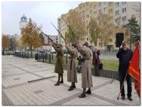 Vzpomínkový akt u příležitosti Dne válečných veteránů a padlých ve fotografii