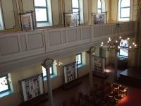 Pohled na stálou expozici a výstavu